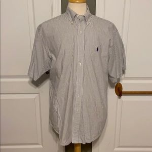 "Ralph Lauren ""Blake"" short sleeve Large shirt"